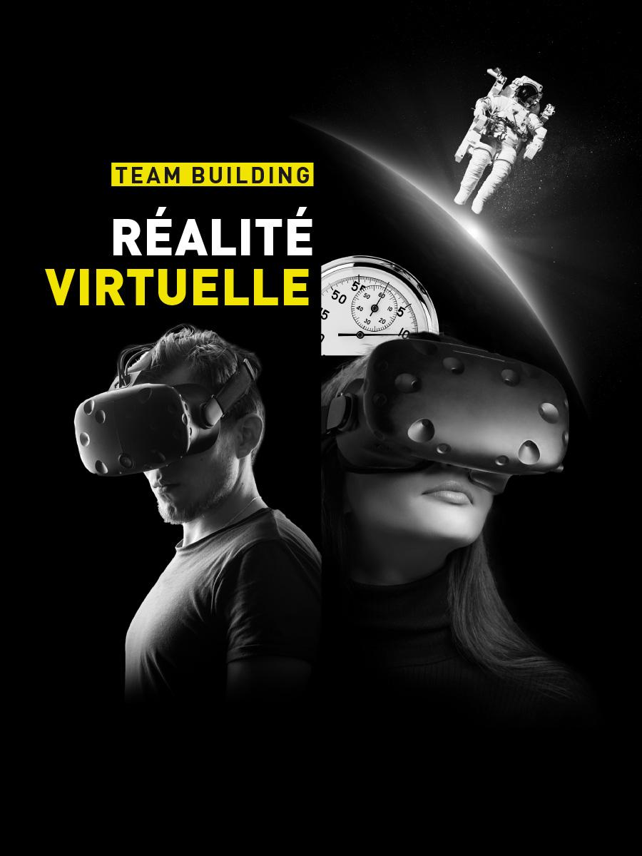 activité entreprise réalité virtuelle Paris Saint Quentin en Yvelines