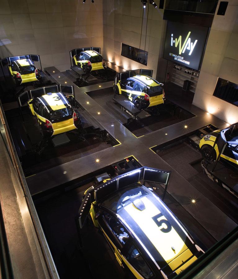 Simulateur Rallye - Des voitures tailles réelles