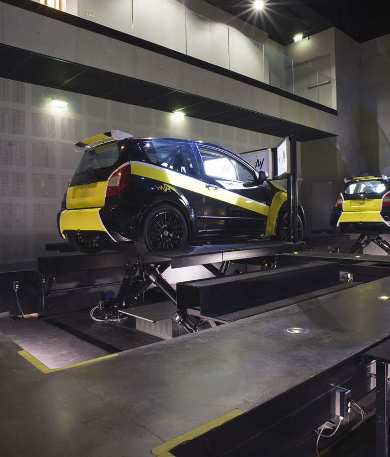 Simulateur Rallye - Des sensations ultra réalistes