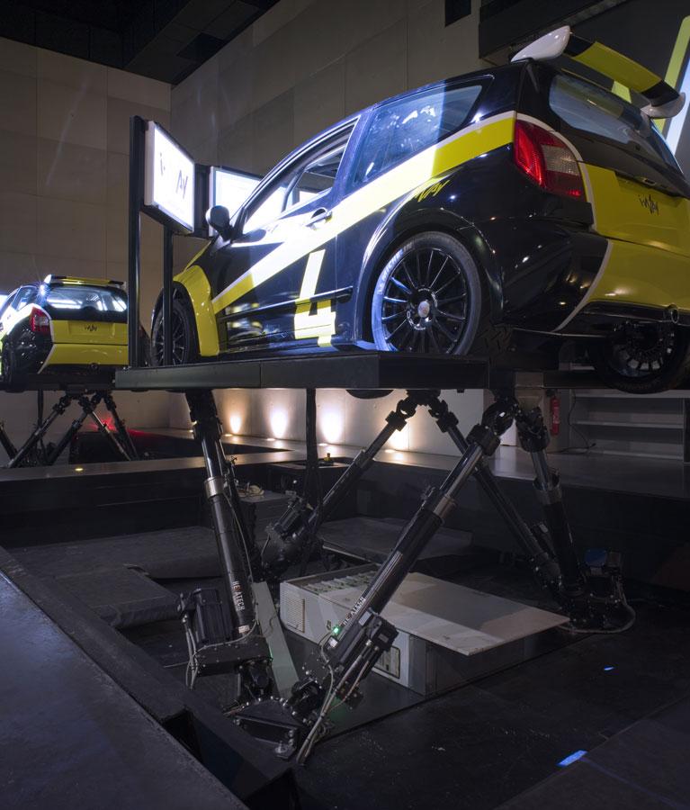 Simulateur Rallye - Une technologie de pointe