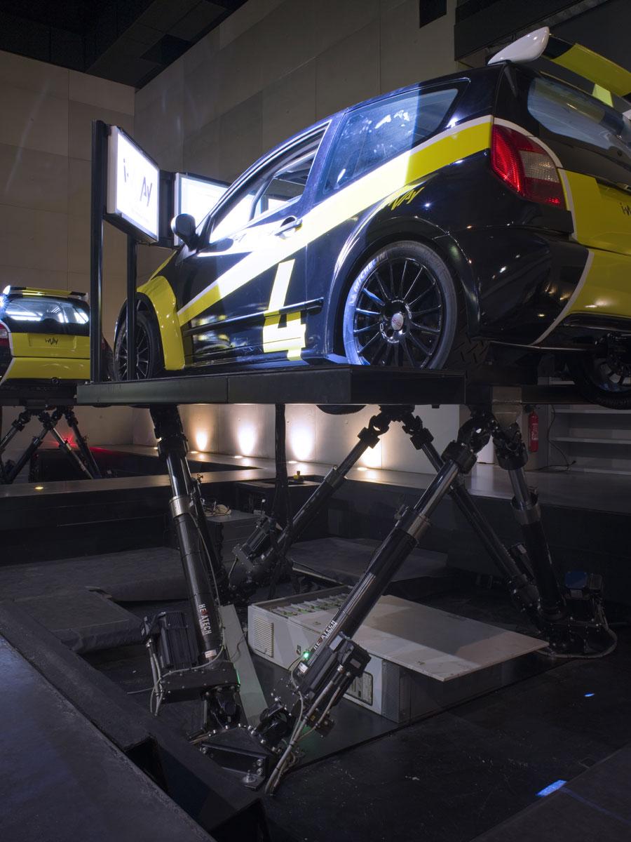 Simulation Course Rallye Paris Saint Quentin en Yvelines