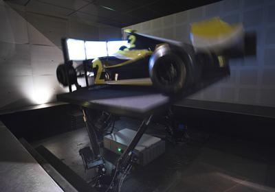Simulateur voiture de course