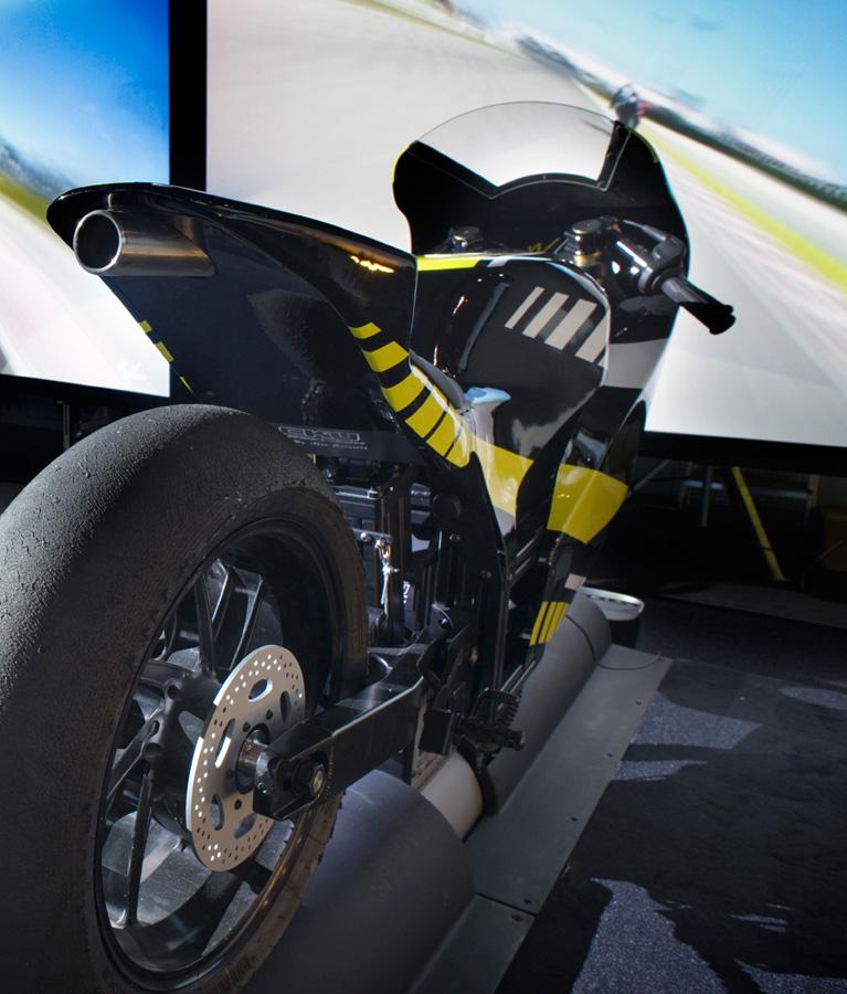 Simulateur Moto GP - Une technologie conçue par des pilotes professionnels