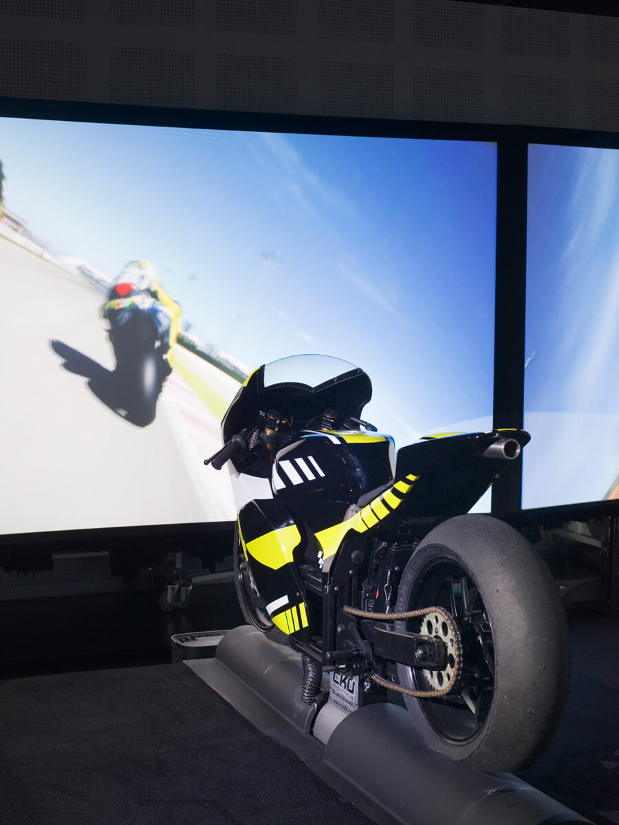 Simulateur Moto de Course I-WAY