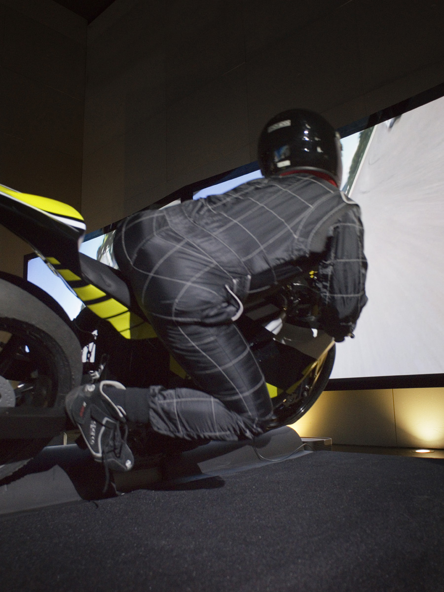 Simulateur Moto GP Lyon