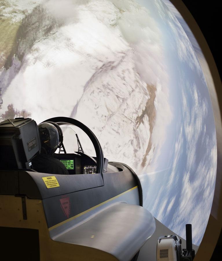 Simulateur Avion de Chasse - Une technologie unique