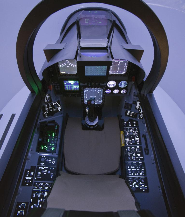 Simulateur Avion de Chasse - Cockpit