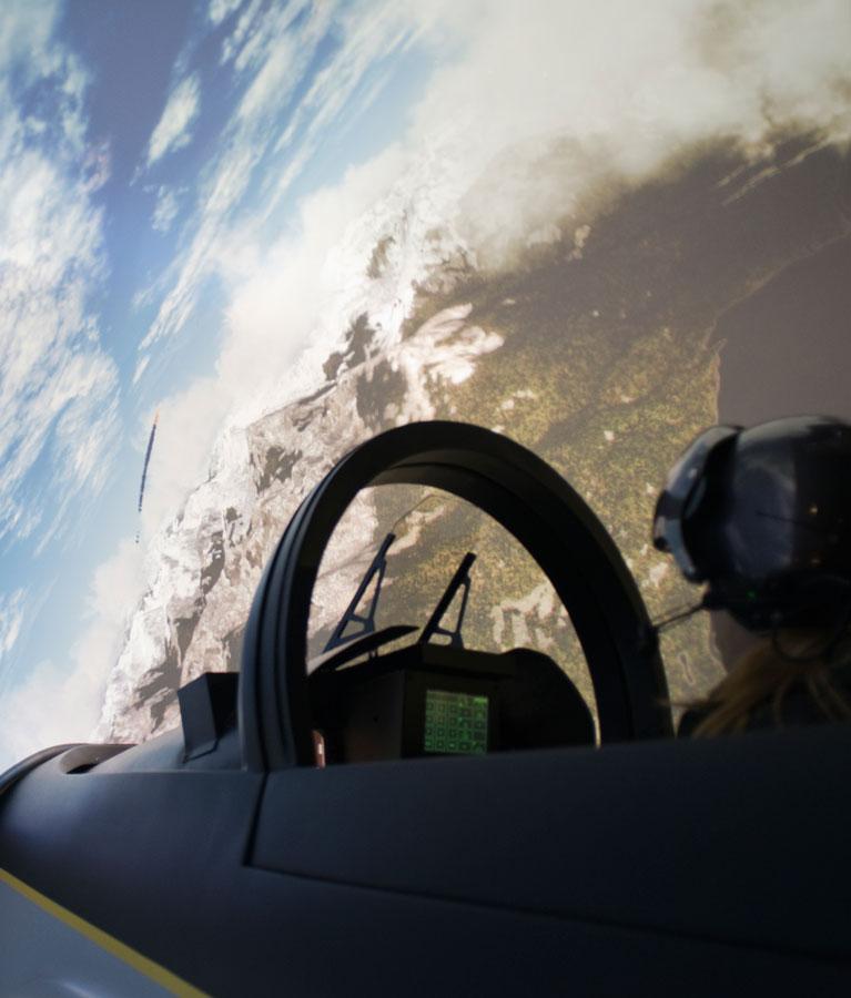 Simulateur Avion de Chasse - Combat aérien