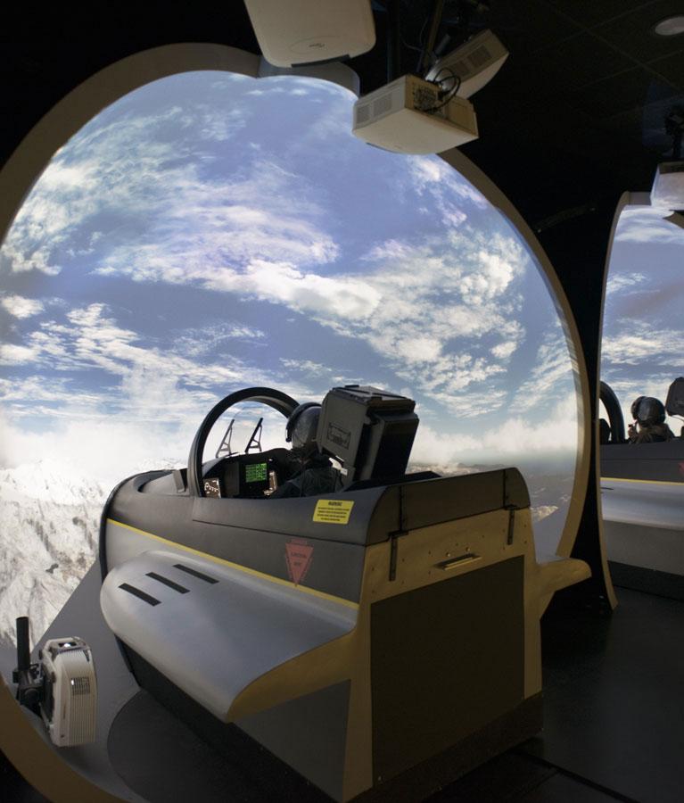 Simulateur Avion de Chasse - Une technologie de pointe