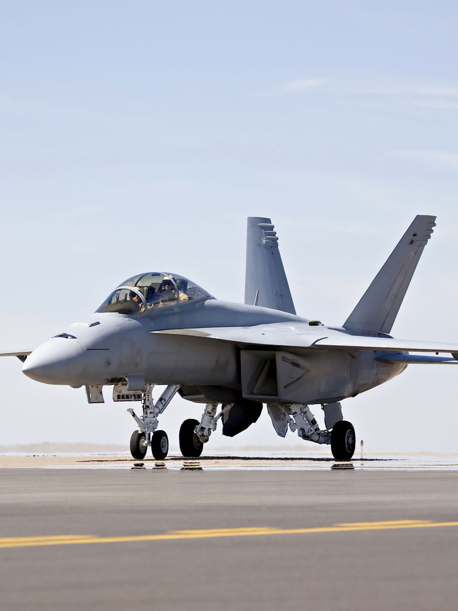Avion de Chasse F18 Super Hornet