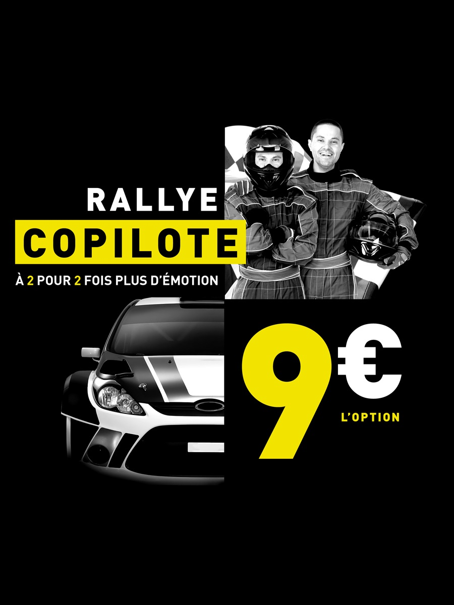 copilote course automobile