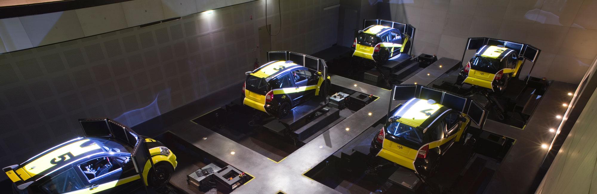 Simulation Course Automobile I-WAY Saint Quentin en Yvelines